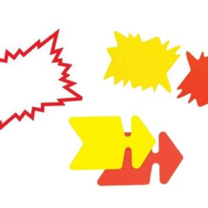Affichage Fluo Carton